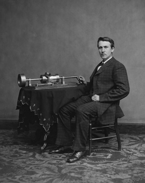 Эдисон и его фонограф