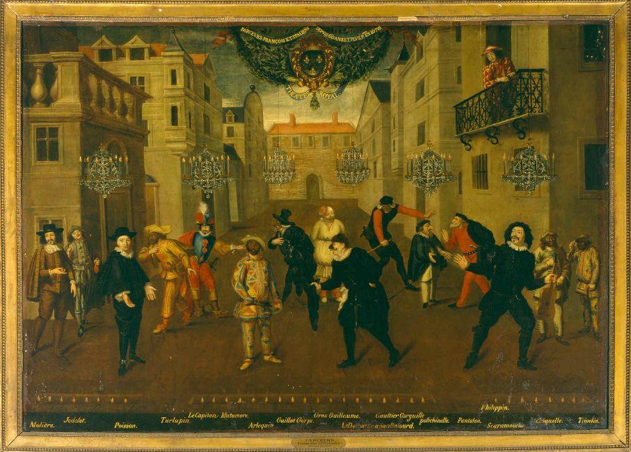 театр в средние века?