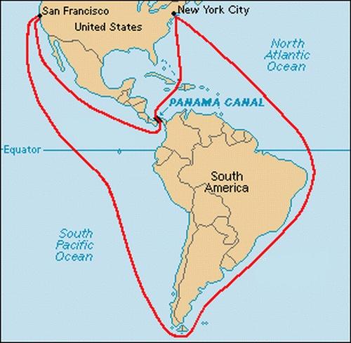 Панаму где находиться