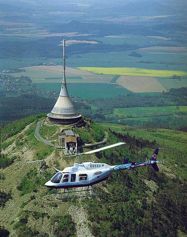 Либерец - телевизионная башня