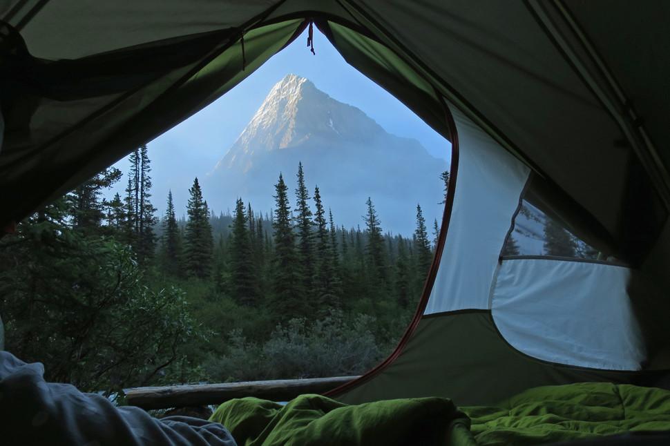 палатки фотографии из