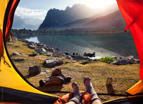 Озеро Алаудин, Таджикистан