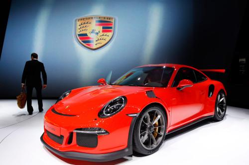Совершенно новая модель суперкара Porsche 911 GT3 RS.