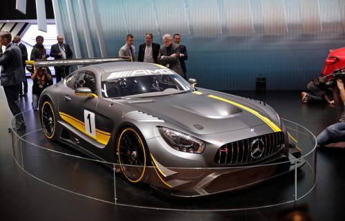 Mercedes AMG GT3 ограниченной версии.