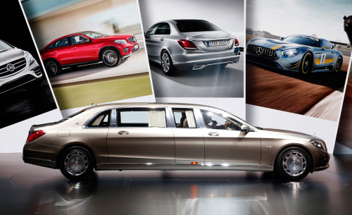 Mercedes-S600 Pullman Maybach