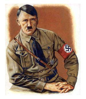 Диснеевские персонажи нарисовал Гитлер?