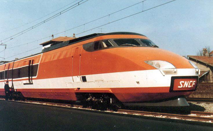 Высокоскоростной поезд TGV001