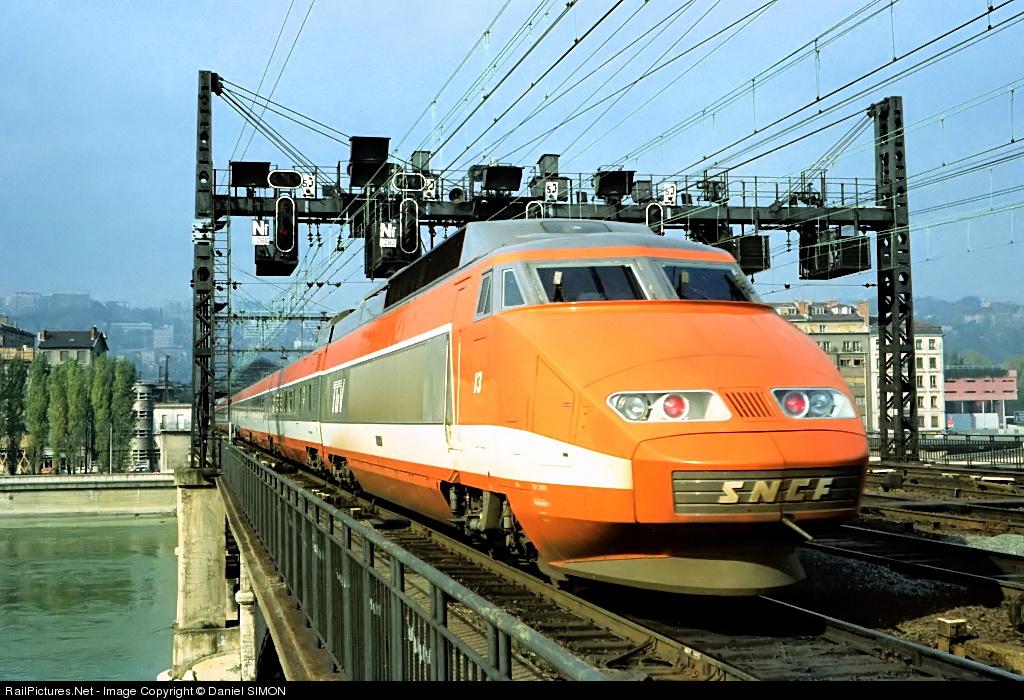 """TGV """"Зюд-Эст"""" (Sud-Est)"""