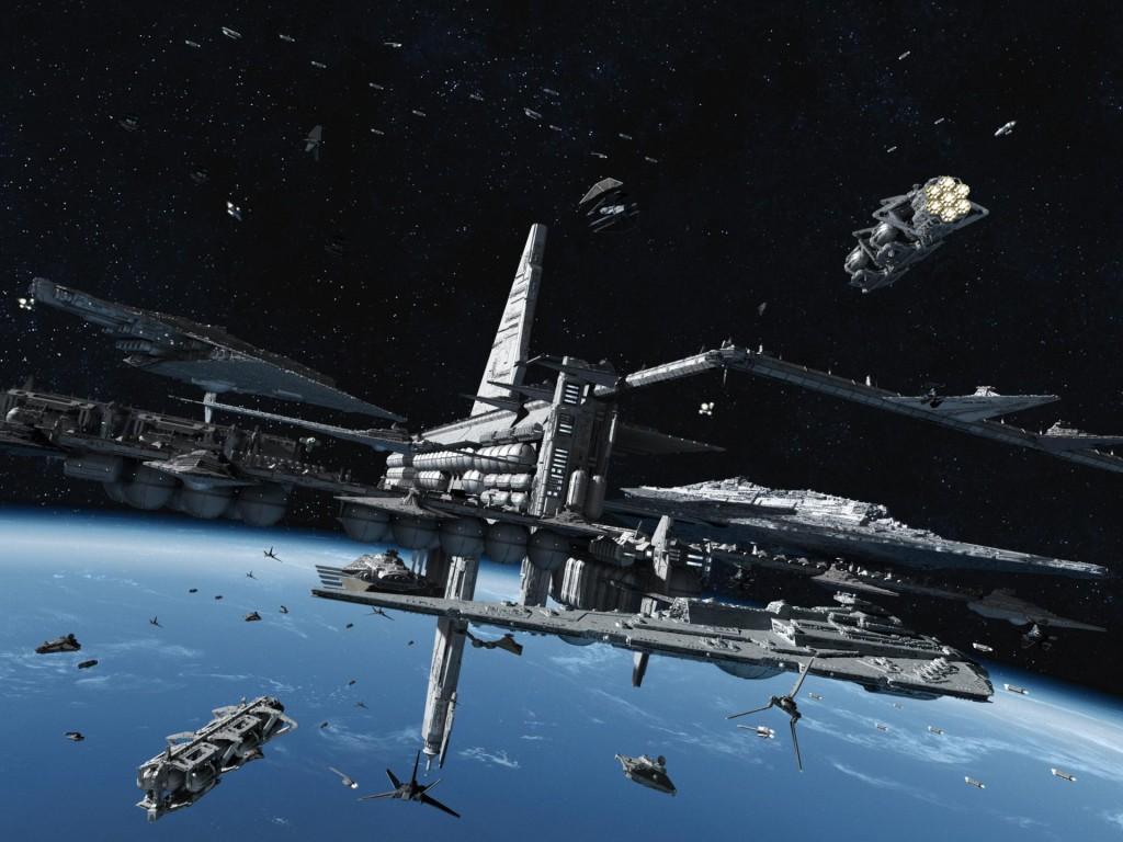 Почему нужно строить заводы на орбите?