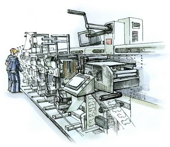 Как происходит офсетная печать журналов?