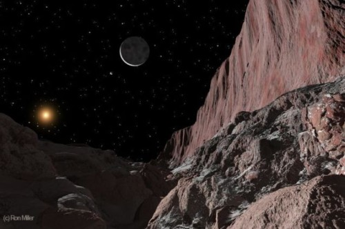 Визуализация поверхности Плутона