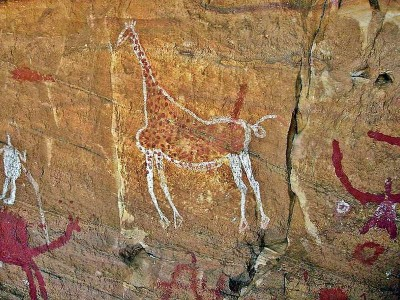 Наскальные рисунки в долине Тель-Исарджен