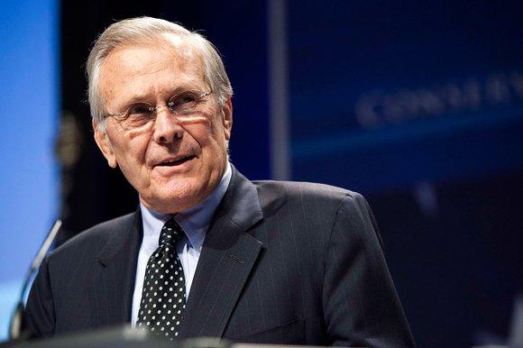 an analysis of donald rumsfeld as secretary of defense