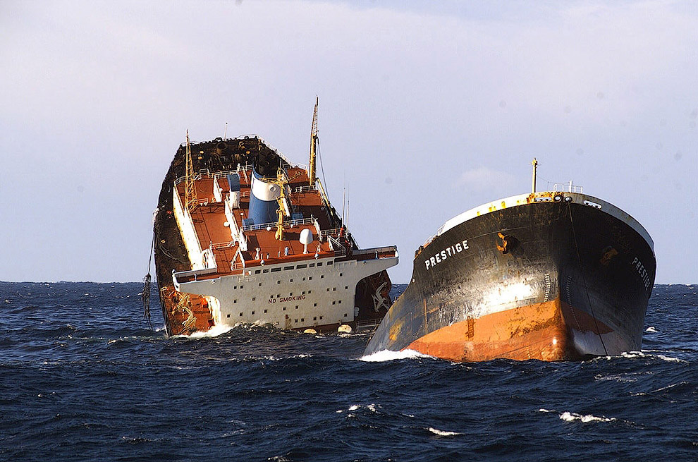 греческий танкер «Престиж»