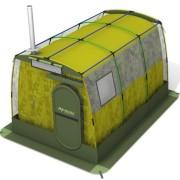 В дальнем походе не обойтись без палатки, которая является вторым домом туриста. По сезону и району использования палатки делятся на зимние и трехсезонные, на горные, штурмовые (альпинистские) и обычные туристские. Самые простые палатки имеют однослойную конструкцию, т.е. от внешней среды Вас отделяет один слой тонкой ткани. Гораздо лучшими защитными свойствами обладают палатки двуслойной конструкции, у которых над внутренней спальной камерой из более легкой ткани натягивается тент из водооталкивающей ткани. Такая конструкция позволяет избежать перегрева в полдень и лучше защищает в ливень, к тому же на стенках внутреннией камеры не скапливается конденсат.