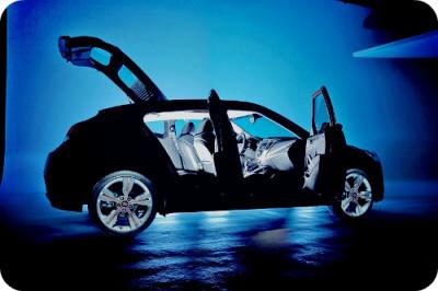 В чем оригинальность автомобиля Hyundai Veloster?