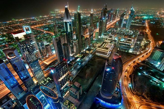 Чем способны удивить фотографии города Дубай (ОАЭ)?
