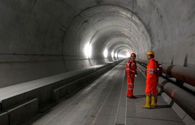 Готардский базисный железнодорожный тоннель