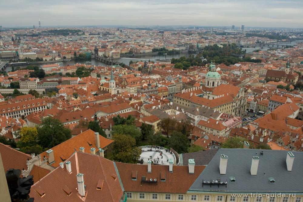 Собор Святого Вита и виды на Прагу