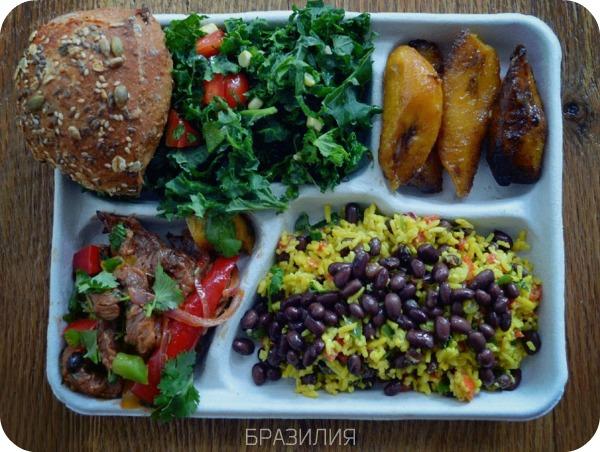 Школьный обед - Бразилия