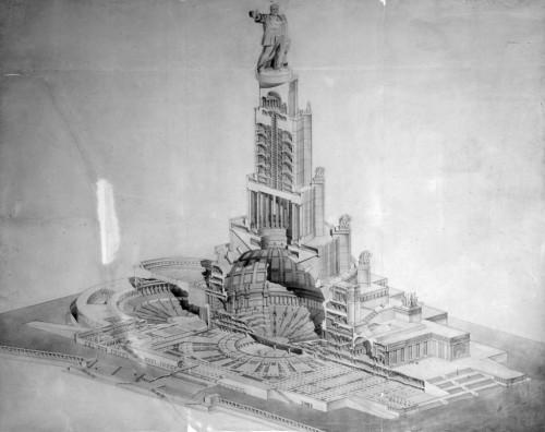 Почему Дворец Советов так и не построили?