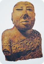 фигура бородатого мужчины Мохенджо-Даро