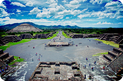 Чем известен древний город Теотиуакан?