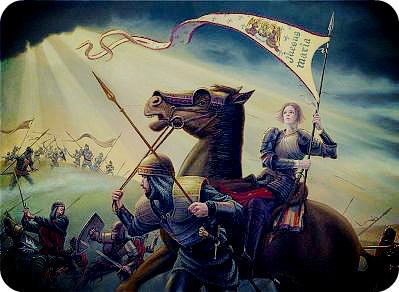 Чем известна Жанна д'Арк?