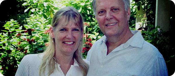 Крис Рейнольдс со своей супругой.