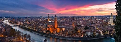 Закат в Вероне