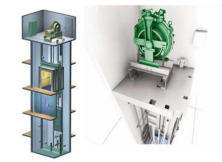 Конструкция современного лифта