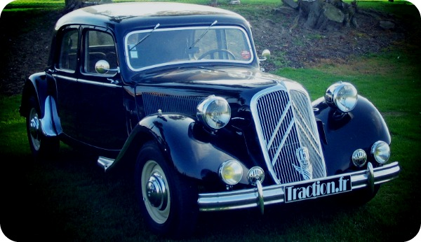 Citroen Traction Avant (1934).