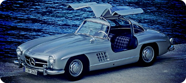 Mercedes-Benz 300SL (1954).
