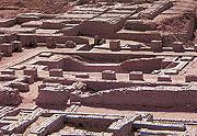 Остатки города Мохенджо-Даро.