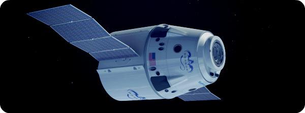 Орбитальный корабль Dragon.
