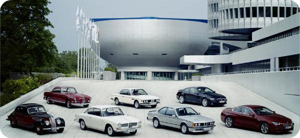 Эволюция автомобилей марки BMW.