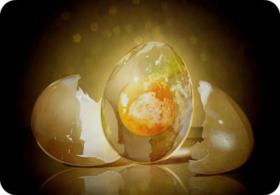 Какое место занимает яйцо в искусстве?