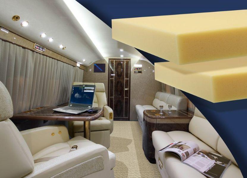 Внутри самолета будущего