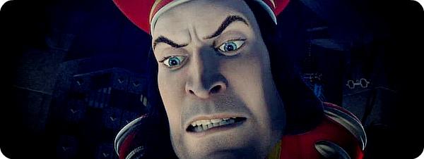 """Лорд Фаркуад - один из второстепенных героев мультфильма """"Шрек"""", злой и смешной."""
