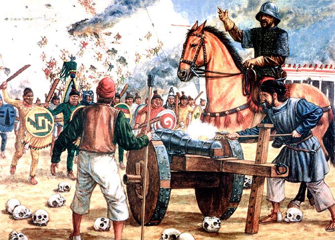 La concha vs el conquistador