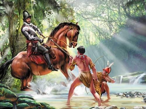 Как конкистадоры покорили Инков?