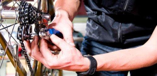 облуживание велосипеда